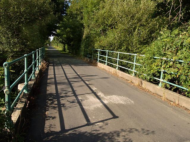 Bridge, Bernahara Road.  Isle of Man.