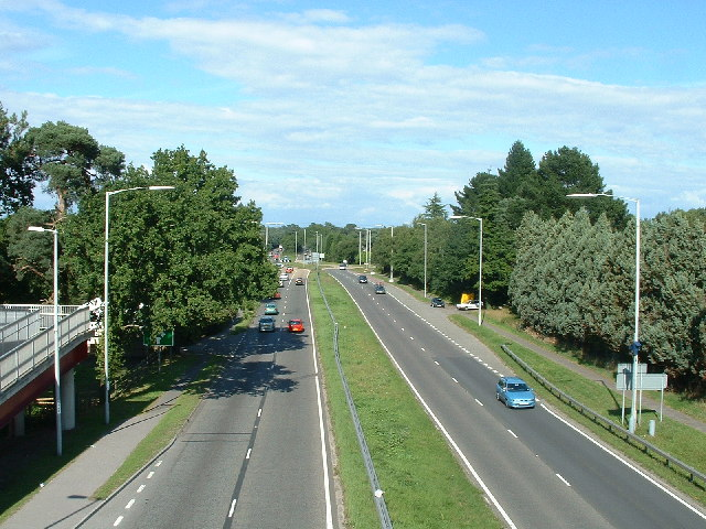 A31 Road at St. Leonards