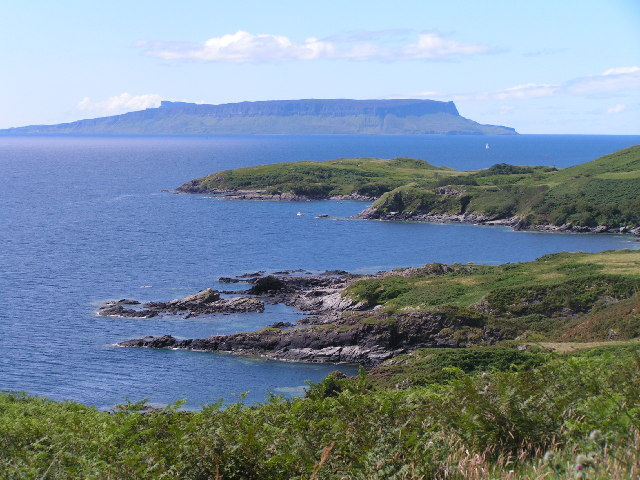 View to Eigg