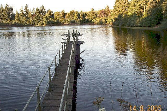 One of the Hennock Reservoirs