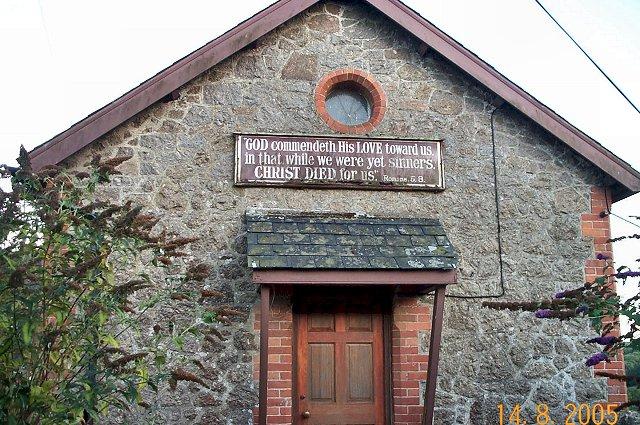 Bridford chapel