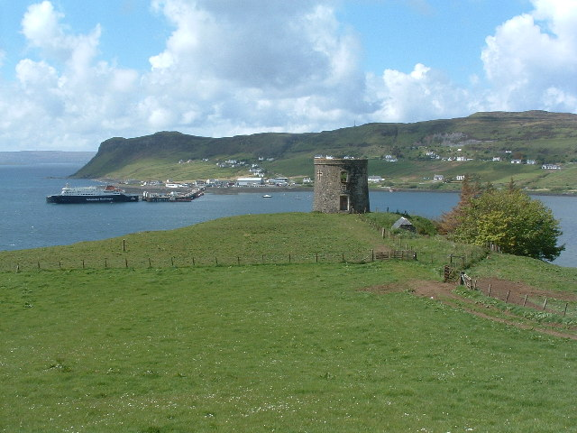 Tower overlooking Uig
