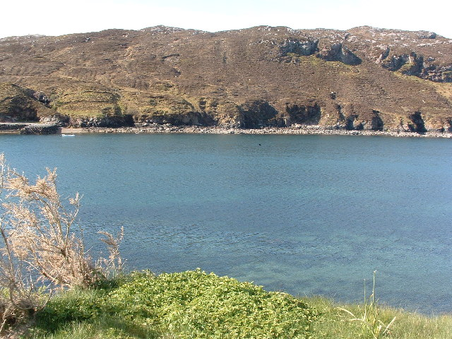 View of West Bay at Tarbert