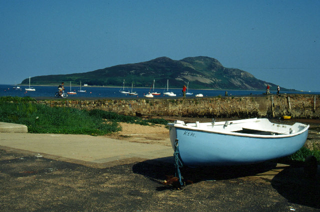 Lamlash Pier and Holy Island
