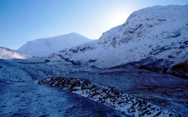 Glencoe and Buachaille Etive Beag