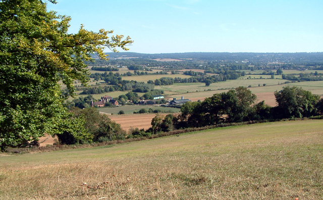 Darent Valley showing Filston Hall & Farm