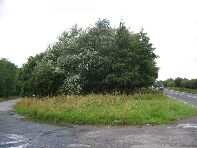Lay-by  on the  A165