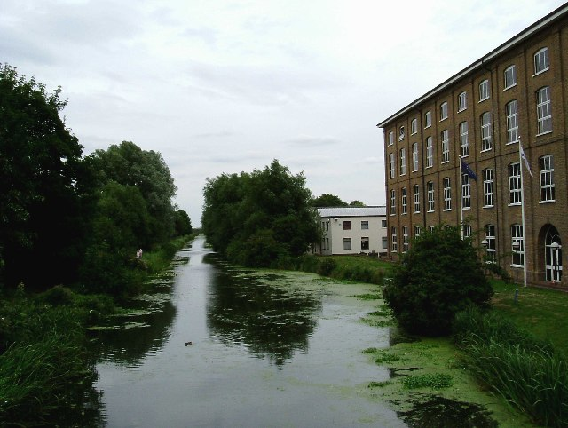 Bentalls Factory on Chelmer and Blackwater Navigation