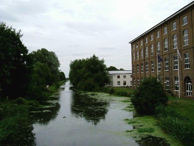 Bentalls Factory on Chelmer and Blackwater Navigation