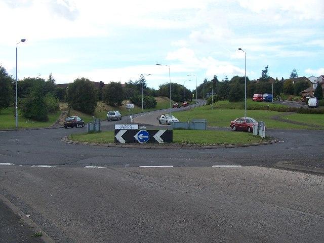 Baljaffray roundabout