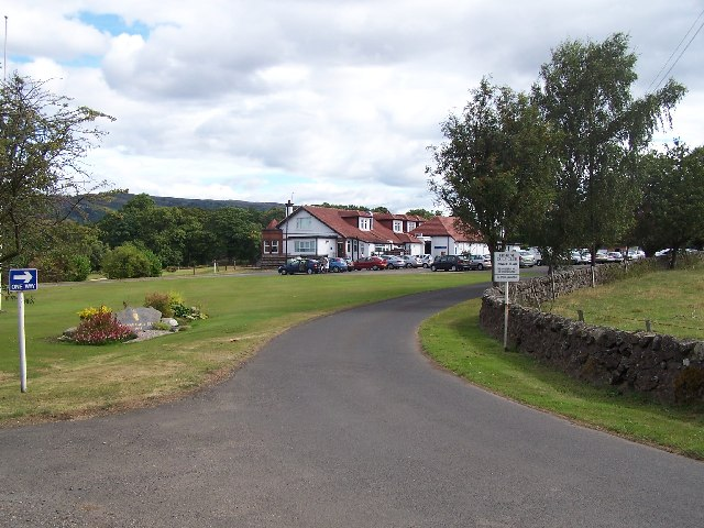 Erskine golf clubhouse