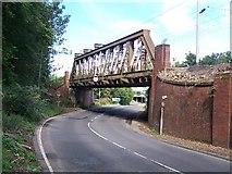 NS4072 : Railway bridge by william craig