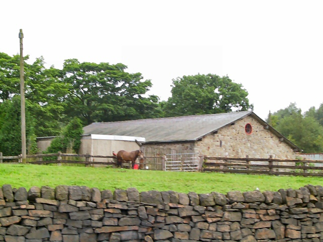 Farm buildings at Westwood