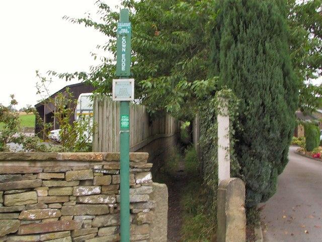 Footpath to Cown Edge