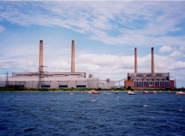 Former Blyth A & B Power stations