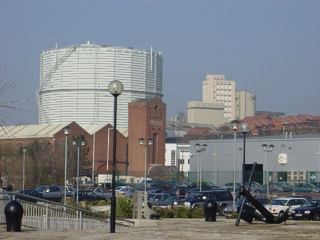 Brunswick Business Park and Gasometer on Grafton Street