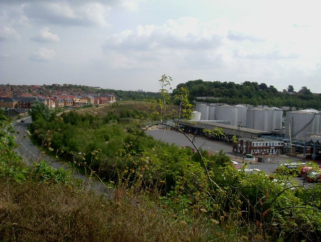 Oil Depot in Chafford Gorge