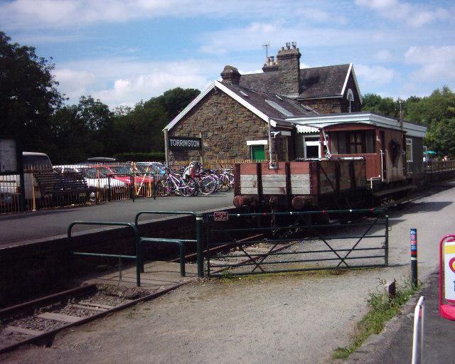 Former Torrington station