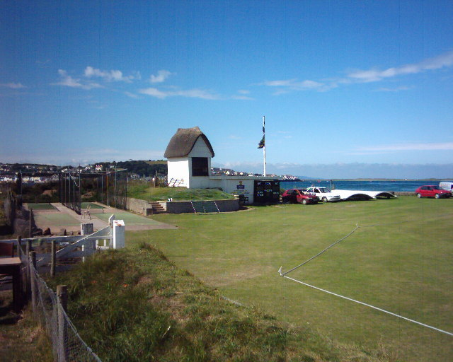 Thatched scorekeeper's hut, Instow Cricket Club