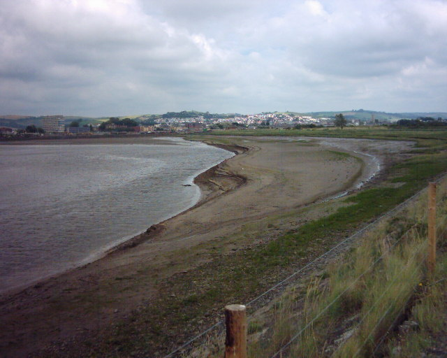 Mudflats by river Taw near Barnstaple