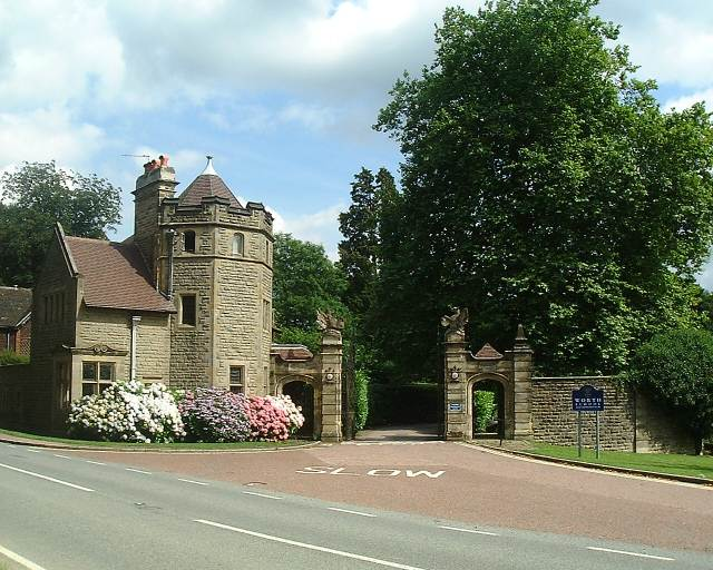 Worth School entrance
