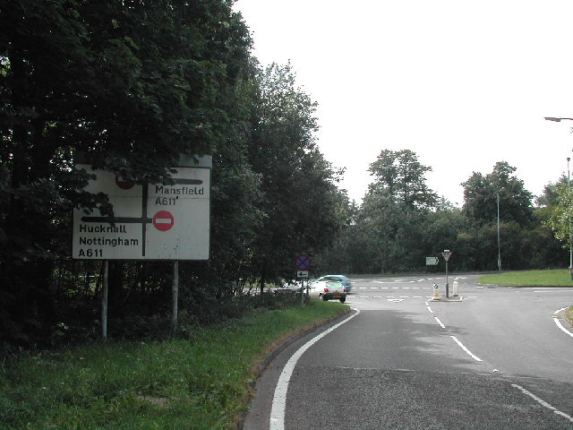 Road Junction by Rosselsike Woods