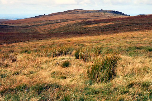 East Mill Tor 2 km east of High Willhayes