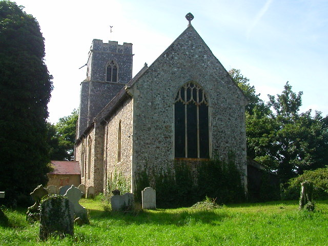 All Saints Church,  Postwick