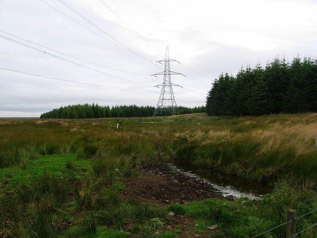 Power lines, Soutra.