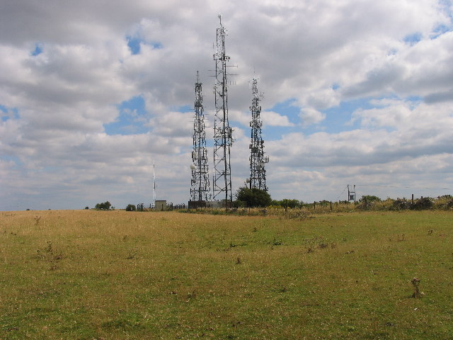 Cleeve Hill Communication Masts