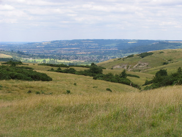 View across Cleeve Common