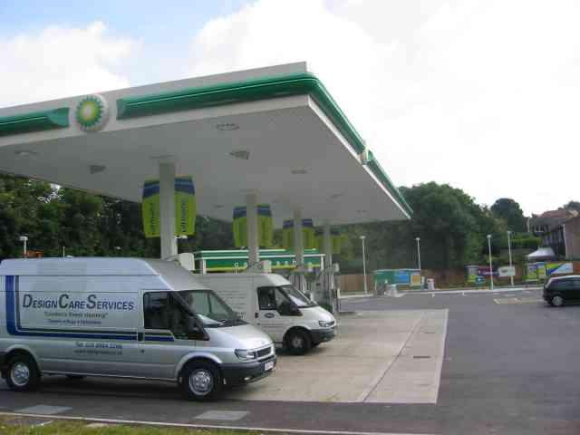 Petrol filling station Park Street
