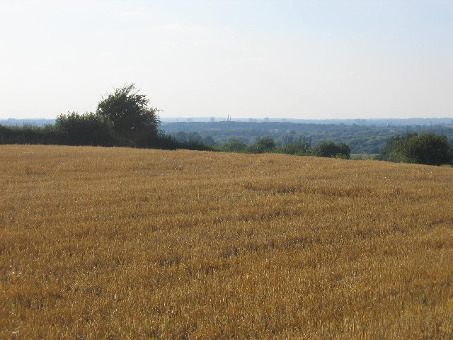 View from Knightlow Hill