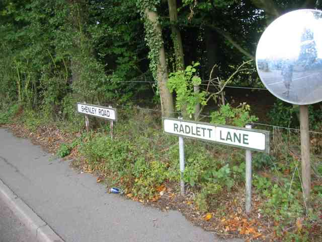 A change of road name