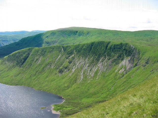 Mid Craig from Lochcraig Head