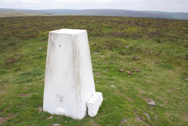 Trig point, Crow Hill