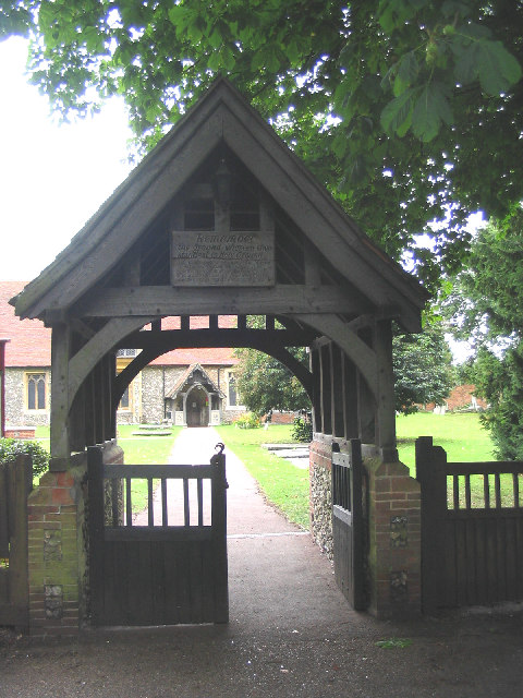 The Lychgate to St. Laurence Church, Blackmore, Essex