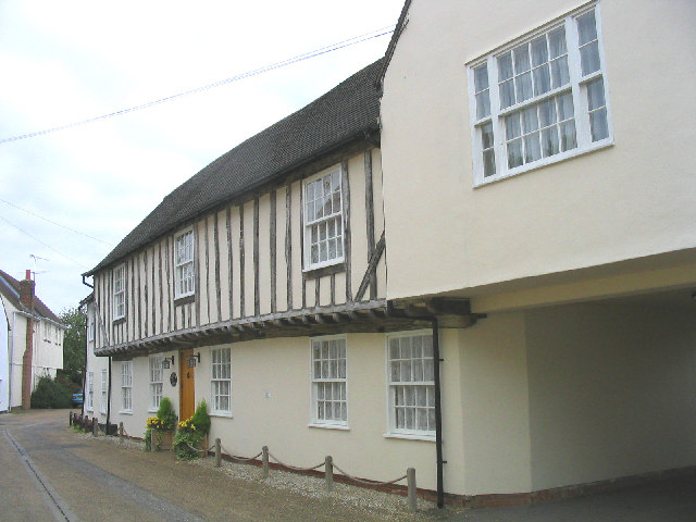 Medieval Houses, Church Street, Blackmore, Essex