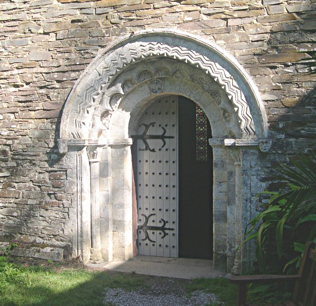 St Anthony's Church, south doorway
