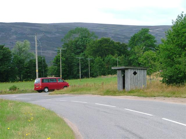 Bus Shelter, near Ordie