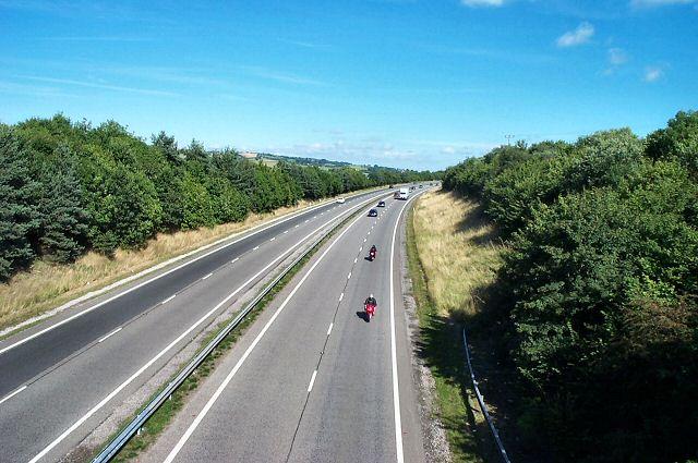 Exeter - Okehampton road