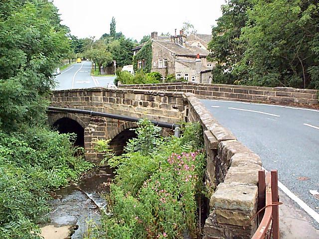Bridge over Harden Beck
