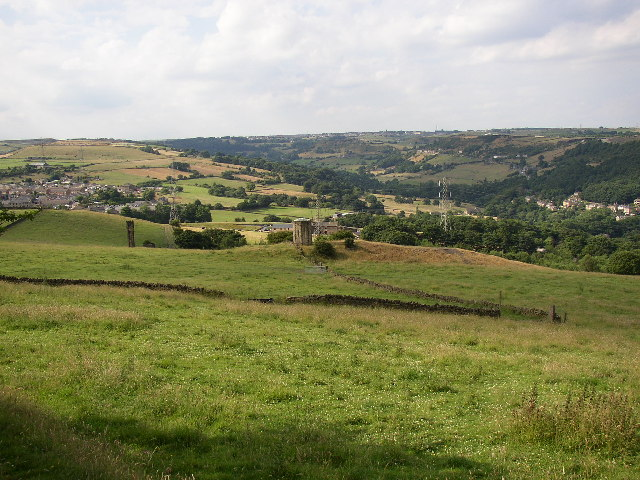 Shibden Valley from Magna Via