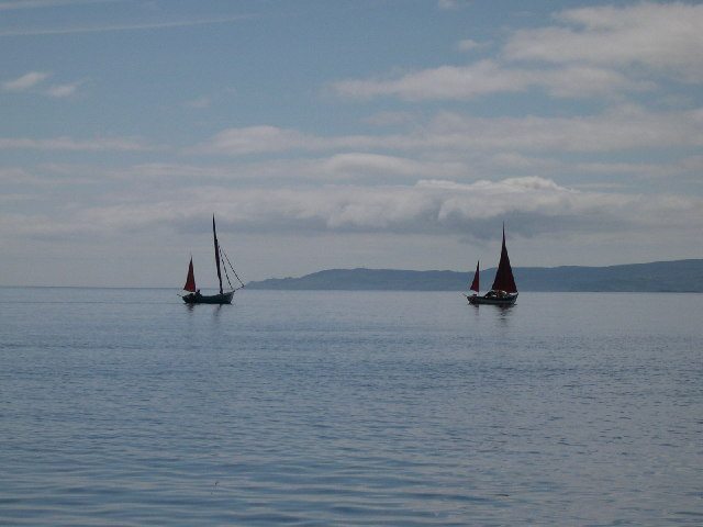 Becalmed off Carradale Point