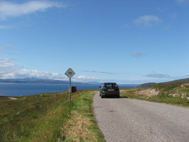 Toscaig to Applecross road