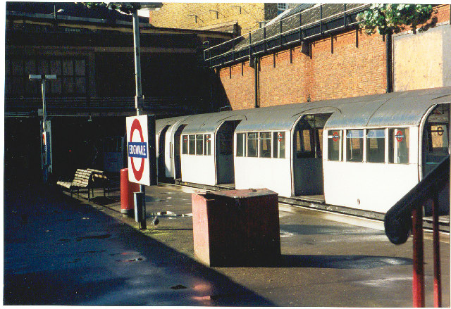 Edgware Station.