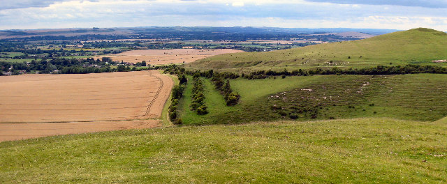 Knap Hill, Pewsey Downs