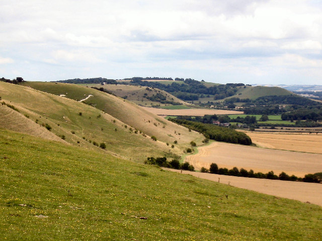 View East, Knap Hill, Pewsey Downs