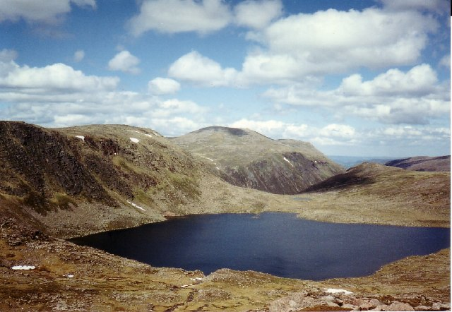 Cairn Gorm and Loch Etchachan