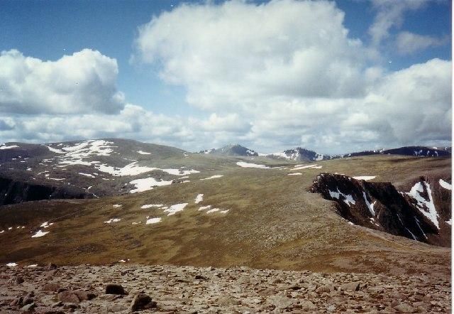 Ben Macdui from Cairn Gorm